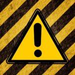 Hazard symbol indicating the dangers of DIY dentistry